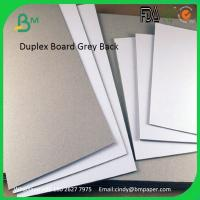 Buy cheap 250gsm 300gsm 350gsm 400gsm 450gsm 787mm 889mm Clay Coated Board Grey Back product