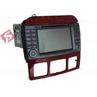 Buy cheap Double Din Mercedes In Car Dvd Players , In Dash Gps Car Stereo With Navigation from wholesalers