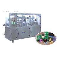 Buy cheap CY-2108B Type Pneumatic Transparent Film 3D Overwrapping machine(Bringing Antiforging Pull Line) from wholesalers