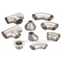 Buy cheap 316L Stainless Steel Sanitary Fittings / 304 Stainless Steel Tee Forged from wholesalers