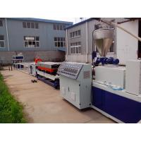 Buy cheap PVC Double Wall Corrugated Pipe Production Line , Conical Double-Screw Extruder from wholesalers