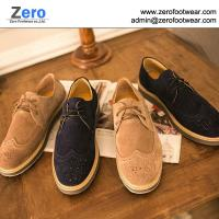 Buy cheap 2014 hot men leather shoes cow leather shoes A453 leisure leather shoes British style from wholesalers