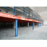 Buy cheap Customized Steel Industrial Mezzanine Floors In Stacking Racks & Shelves from wholesalers