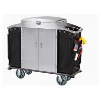 Buy cheap Small Room Service Trolley with Heavy Duty Refuse Bag Stainless Steel Powder - Epoxy Finish from wholesalers