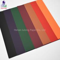 Buy cheap Soft Touch paperboard coated velvet flocked paper for gift wrapping packaging from wholesalers