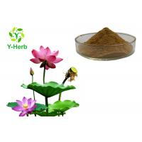Buy cheap Water Soluble Pink Lotus Extract Powder Nelumbo Nucifera Water Lily Flower from wholesalers
