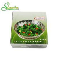 Buy cheap Stackable Collapsible Stainless Steel Vegetable Steamer Basket Insert Food Grade from wholesalers