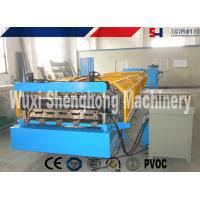 Buy cheap Blue Metal Wall Panel Roll Forming Machine Cr12 Quenched Treatment from wholesalers