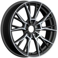Buy cheap black machine 17 inch alloy deep dish wheels rims with 4/8 holes from wholesalers