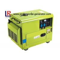 Buy cheap CE Air - cooled Silent 5kw Diesel Driven Generator with Electric Starting product