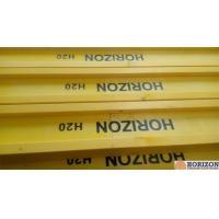 Waterproof Treated H20 Timber Beam , Yellow Timber H BeamFor Slab Formwork