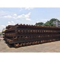Buy cheap 500mm U Type Q235B Width Hot Rolled Sunrise Steel Sheet Pile from wholesalers