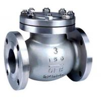 Buy cheap API ISO CE Standard Cast Check Valve , Stainless Steel Swing Check Valve from wholesalers