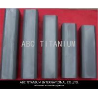 Buy cheap AMS 4928 ti-6al-4v grade5 titanium flat bar best quality from wholesalers