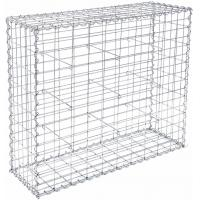 Buy cheap Integrity Structural Wire Gabion Basket Silver Color Decorative For House from wholesalers