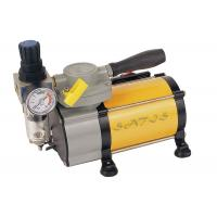 Buy cheap Oil Free industrial , laboratory  Mini Air Compressor With Air Pressure Gauge for Airbrushing from wholesalers