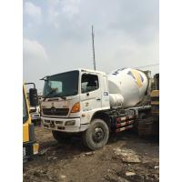 Buy cheap Used hino truck mixer with durable firm 8CBM from wholesalers