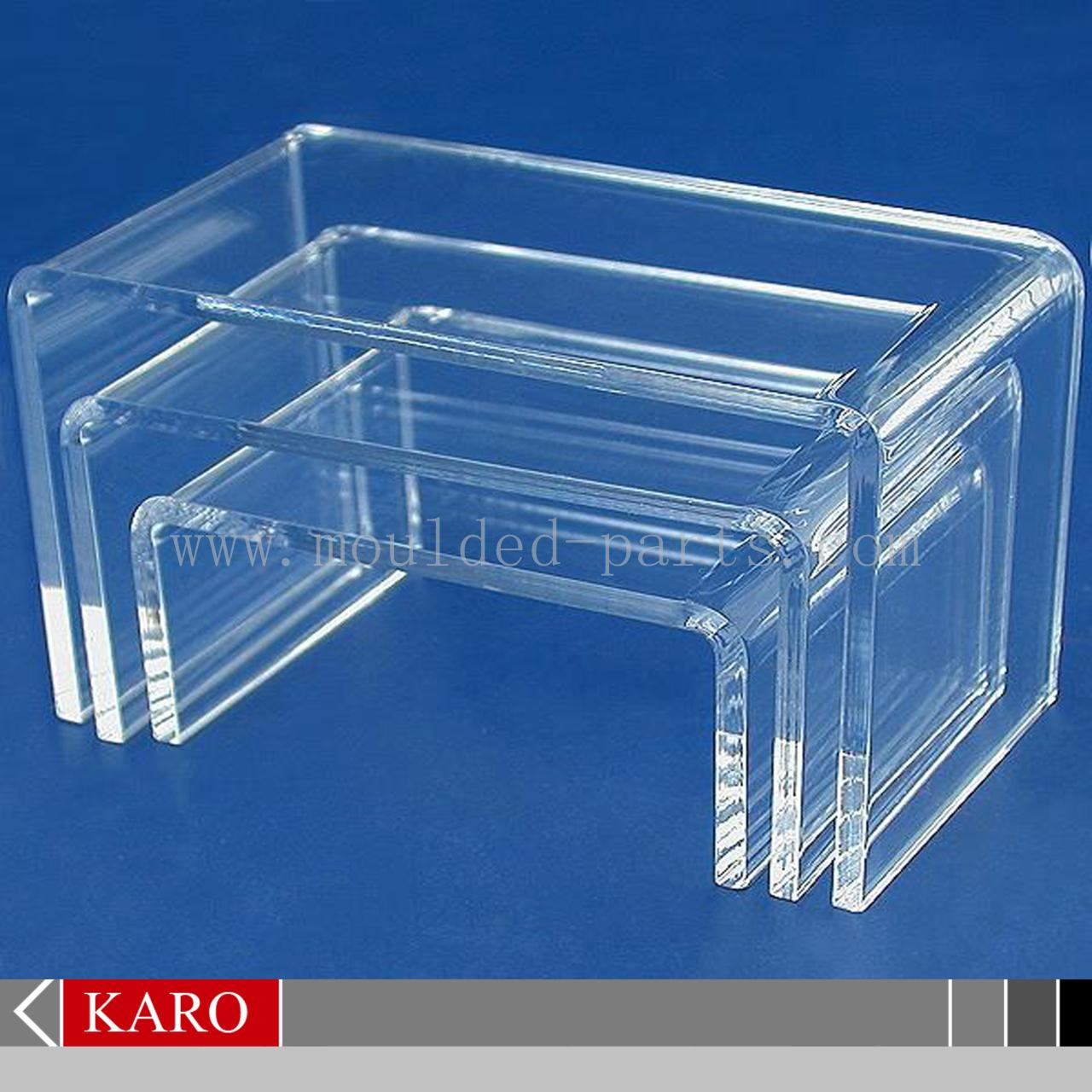 Buy cheap Acrylic shoe display stand from wholesalers