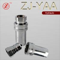 Buy cheap ZJ-YAA oil equipment quick coupling hydraulic hose connector from wholesalers