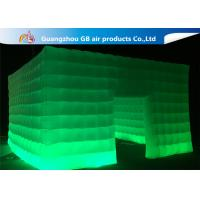 Buy cheap Customize Nigh Square Inflatable LED Light Tent With 3 Years Warranty product