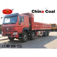Buy cheap Mining Equipment HOWO 8*4 Heavy Duty Tipper Truck Mining Dump Truck from wholesalers