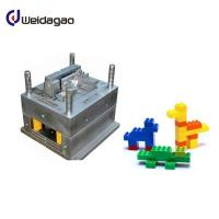 Buy cheap LKM Plastic Injection Mold Tooling / Plastic Injection Mold Making Toy Block For Fun from wholesalers