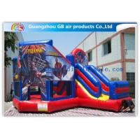 Buy cheap Commercial Spiderman Inflatable Bouncy Castle Kids Inflatable Bouncer With Slide product