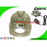 Buy cheap Transparent Rechargeable 13000Lux LED Mining Light Cap Lamp for Underground Mines Tunnel from wholesalers