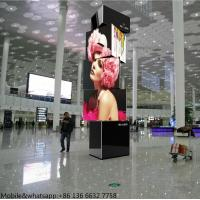 Buy cheap advertising 360 degree spinning full color video led display board from wholesalers