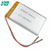 China 4000mah 1 Cell Lithium Polymer Battery , 855080 Custom Lithium Battery on sale