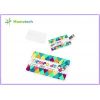 Buy cheap 1GB 2GB Custom Credit Card Usb Storage Device With Printing Logo from wholesalers