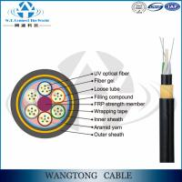 Buy cheap ADSS-All-Dielectric Self-suporting Aerial Installation Cable for Power Transmission Line from wholesalers
