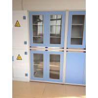 Buy cheap Safety Laboratory Chemical Storage Cabinets 3 Layers Dimension 900*425*2000mm from wholesalers
