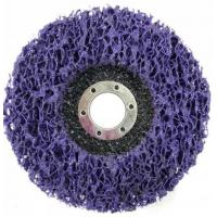 Buy cheap Purple Strip and Clean Disc Abrasive Blaze type 27, type29 Grit Center Mount Plastic Flat Flap Disc from wholesalers