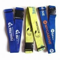 Buy cheap Polyester Luggage Straps, Heat Transfer Process, Available in Pantone from wholesalers