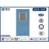 Soundproof Single Leaf Fireproof Entry Doors With Inlayed Fire Expansion Strips