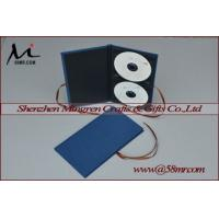 Buy cheap Double Cotton Fabric Linen DVD CD Case from wholesalers