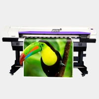 Buy cheap Large Inkjet Printer 6Feet Single Head Eco Solvent Printer Dx5 Sublimation Printer Outdoor Advertisement Printing Machin from wholesalers