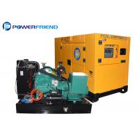 Buy cheap 25kva Cummins Open Type Super Silent Diesel Generators With Deepsea Controller from wholesalers