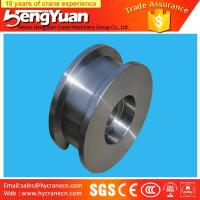 Buy cheap Gantry crane and overhead crane used forged iron crane wheels from wholesalers