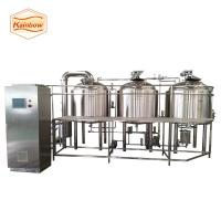 China 5bbl 7bbl 10bbl beer brewing equipment microbrewery equipment stainless steel tank on sale