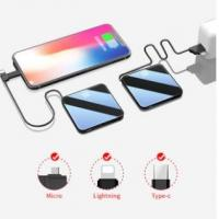 Buy cheap 2019 Thin Slim Power Bank 20000mah portable charger external Battery 20000 mah mobile phone charger product
