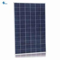Buy cheap Chinese 36V 300W Poly transparent glass solar panel for Residential Solar Power Panels ZW-300W product