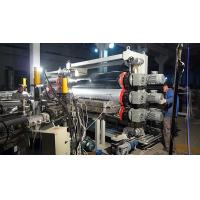 Buy cheap PS / PP Plastic Board Extrusion Line With Single Screw Extruder from wholesalers