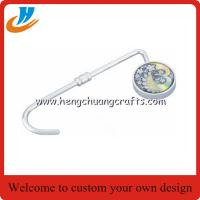 Buy cheap Bag hook hanger,epoxy logo bag hanger with custom,print logo design from wholesalers