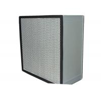 Buy cheap Commercial Clean Room HEPA Air Filter Media , Stainless Steel Frame from wholesalers