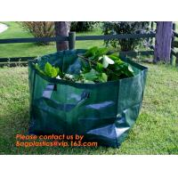 Buy cheap 260L PP fabric leaf waste bags/garden bag waste/garden refuse sack,self standing plastic yard,lawn and leaf bags / reusa from wholesalers