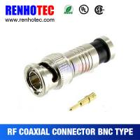 Buy cheap Compression Male BNC connector for Cable RG6 RG59 from wholesalers