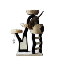 Buy cheap Factory Cat Tree Scratcher Play House Condo Furniture Bed Post Pet House from wholesalers