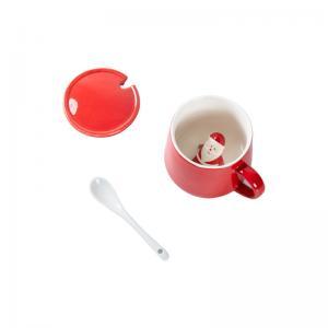 Buy cheap Glaze 350ml 13x9.5x9cm Christmas Ceramic Mugs product